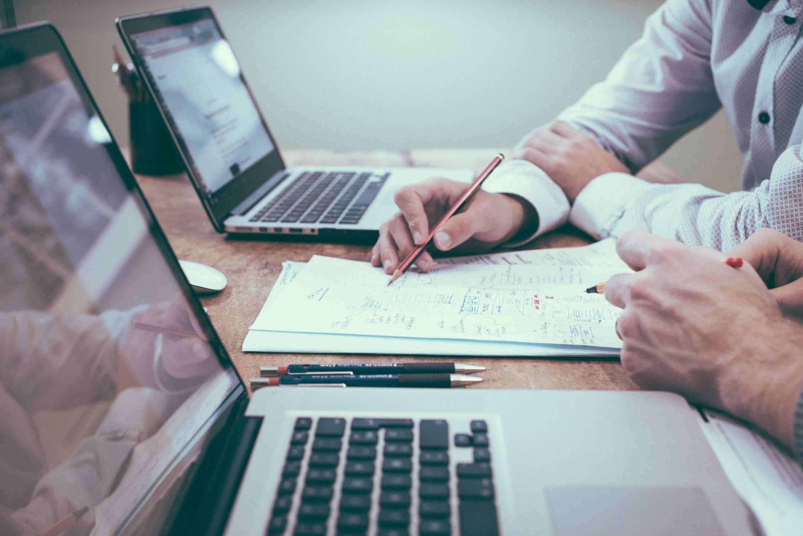 cincinnati industrial web development team at work