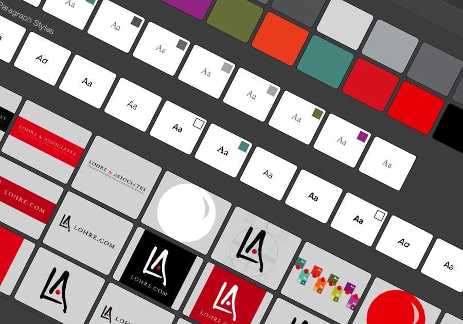 lohre branding identity design example