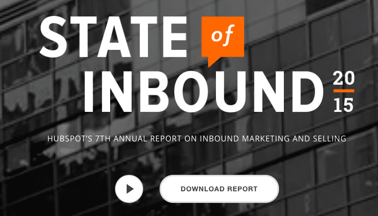 Download, The State of Inbound 2015