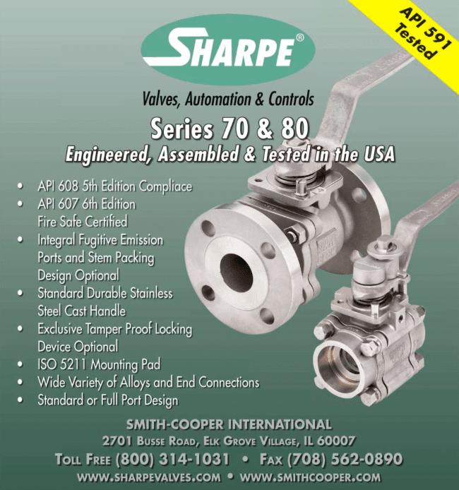 Sharpe Process Equipment Marketing Image
