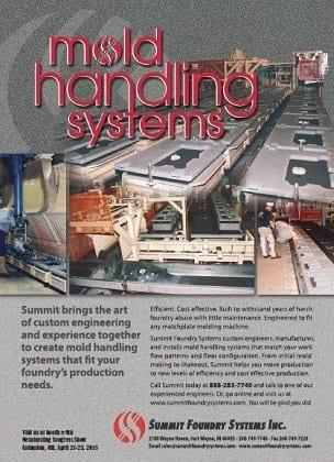 Mold Handling Ad Design