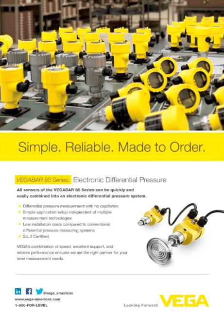 VEGA Process Equipment Marketing Image