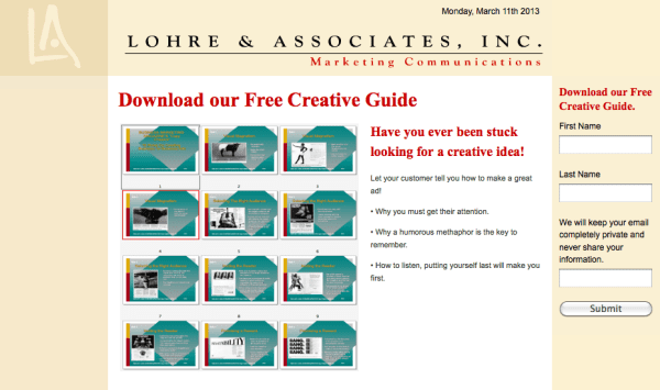 Industrial Web Design and Web Development checklist image 1